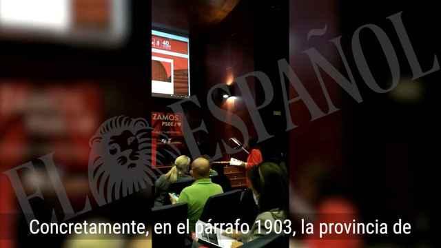 Inés Rey alcaldesa de La Coruña y delegada en el congreso del PSOE en la ponencia sobre feminismo