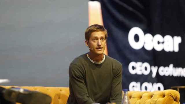 El CEO y fundador de Glovo, Óscar Pierre, en el 36º Congreso de Aecoc.