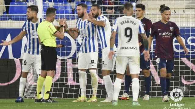 El Málaga CF alza la voz con la última polémica arbitral.