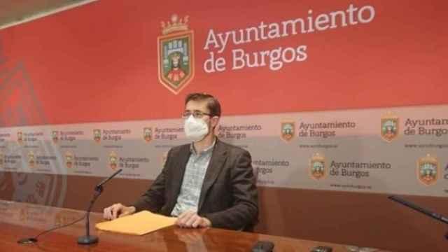 El concejal del Ayuntamiento de Burgos Julio Rodríguez-Vigil
