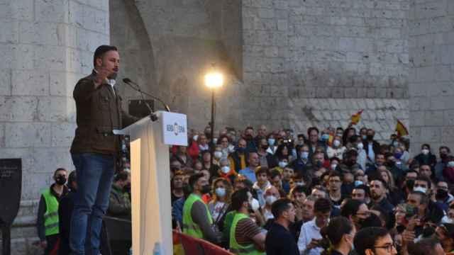 Santiago Abascal defendió en Valladolid la 'Agenda España'