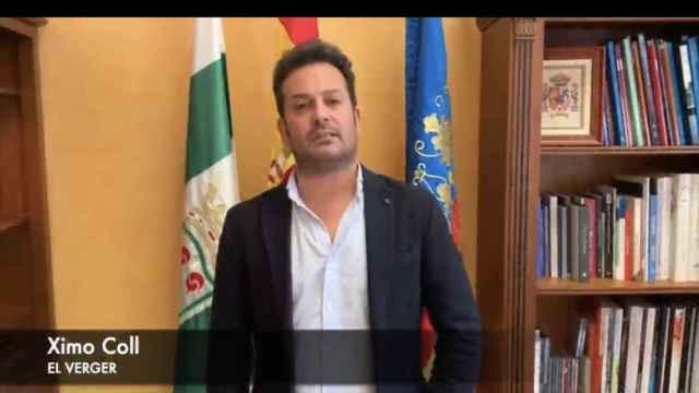 Ximo Coll, el alcalde de El Verger, suspendido de militancia por el PSOE.