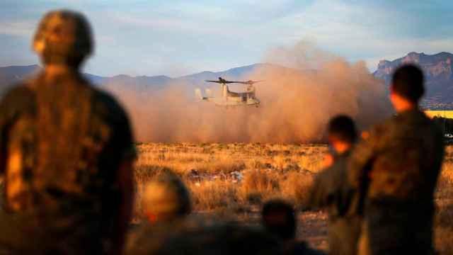 El Mando de Operaciones Especiales con sede en Alicante practica con los marines americanos.