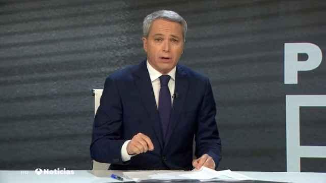 Vicente Vallés ha vuelto a criticar al Gobierno, esta vez por el acercamiento de los presos de ETA.