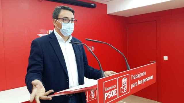 El procurador socialista por Salamanca Fernando Pablos