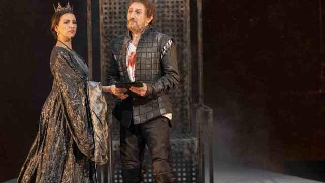 El actor José Luis Gil representa 'Eduardo II, Ojos de Niebla'