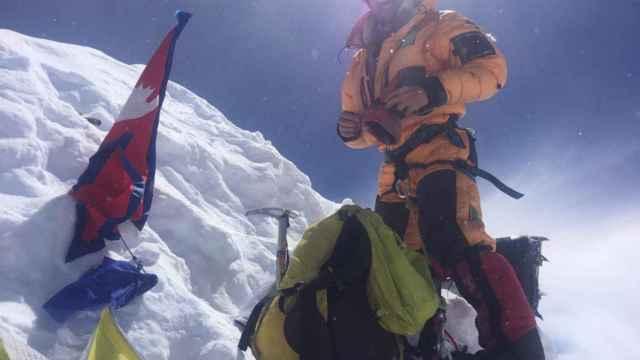 El montañero zamorano Martín Ramos