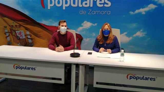 Mayte Martín Pozo y Víctor López de la Parte