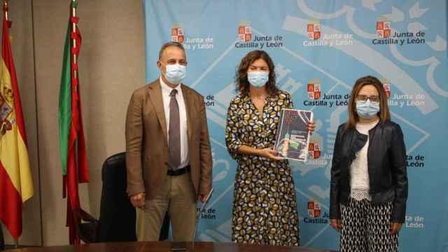 Presentación de la campaña de vacunación COVID, neumococo y gripe en Zamora