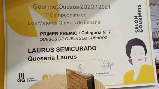 Premio a Quesos Laurus