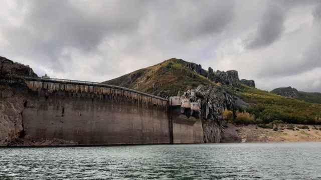Embalse de la cuenca del Duero