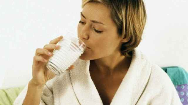 El vaso de leche antes de dormir.