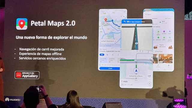 Huawei extiende su catálogo y actualiza Petal Maps a la 2.0