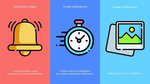 Notification Manager te deja crear tus propias notificaciones