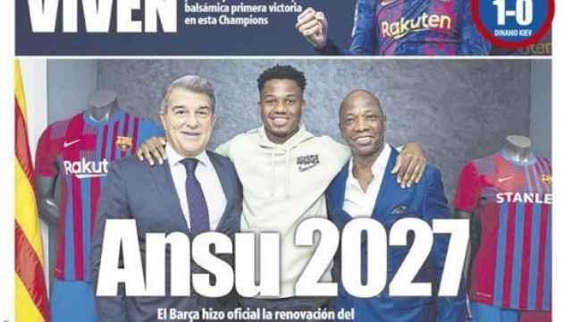 Portada Mundo Deportivo (21/10/21)