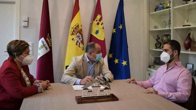 El alcalde de Albacete explora nuevas líneas de colaboración con Inserta Empleo de la ONCE
