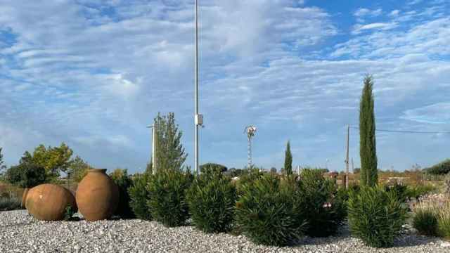 Cámaras en la localidad guadalajareña de Horche. Foto: Ayuntamiento