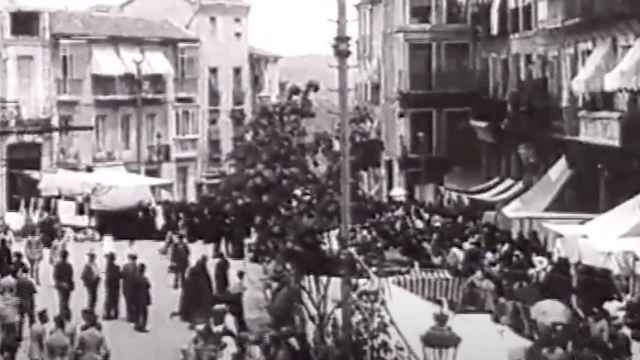 Valiosa grabación de Toledo hacia 1915.