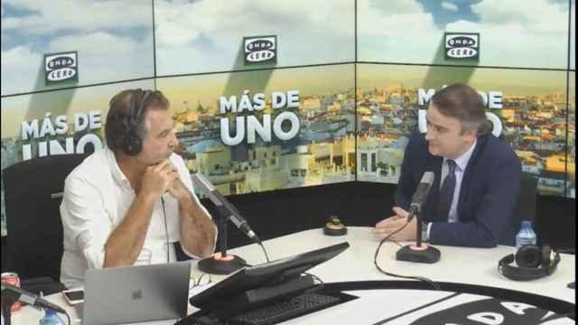 El exjefe de Gabinete de la Presidencia del Gobierno de Pedro Sánchez, Iván Redondo, este jueves en Onda Cero.