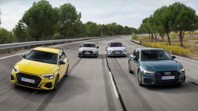Audi TFSIe: repasamos en esta galería la gama de híbridos enchufables de la marca alemana
