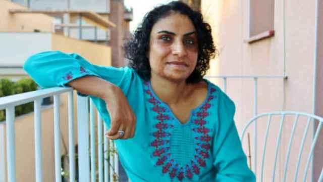 La activista afgana Nadia Ghulam.