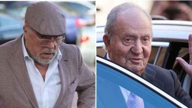 El comisario Villarejo y Juan Carlos I en un fotomontaje.