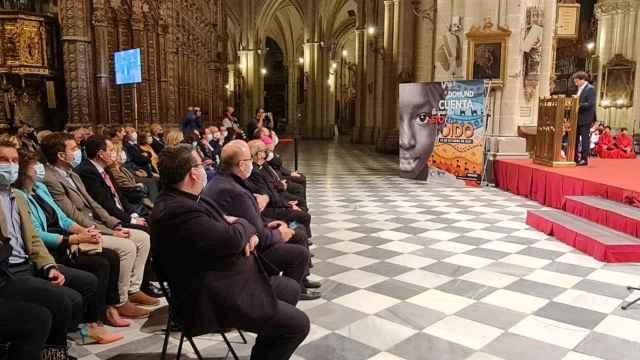El chef Pepe Rodríguez ofrece el pregón del Domund en la Catedral de Toledo