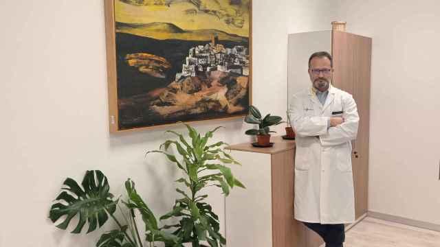 Luis Ángel González Fernández, gerente del Complejo Asistencial Universitario de Salamanca (CAUSA)
