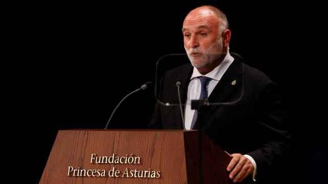 José Andrés en su discurso tras recibir el premio 'Princesa de Asturias' de la Concordia