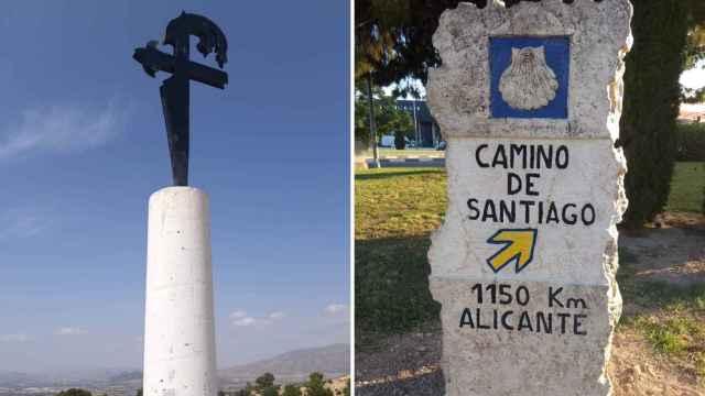 Así es como la Asociación de Amigos del Camino de Santiago en Alicante recuperó el Camino del Sureste