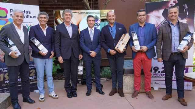 Presentación de la 6ª edición de la Feria del Vino de Pinhel, en las Casas del Coro de Marialva