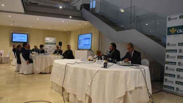 Presentación del estudio realizado por Caja Rural de Zamora sobre el impacto de la recuperación de Montelarreina