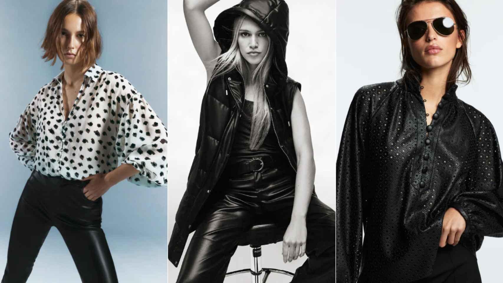 10 prendas de Zara con efecto piel.