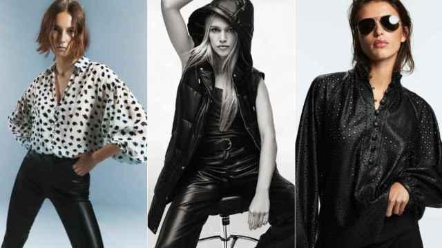 10 prendas de Zara con efecto piel para conseguir el estilo rockero más 'trendy'