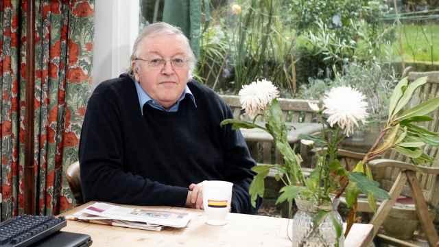 El hispanista Paul Preston, fotografiado en su casa de Londres.