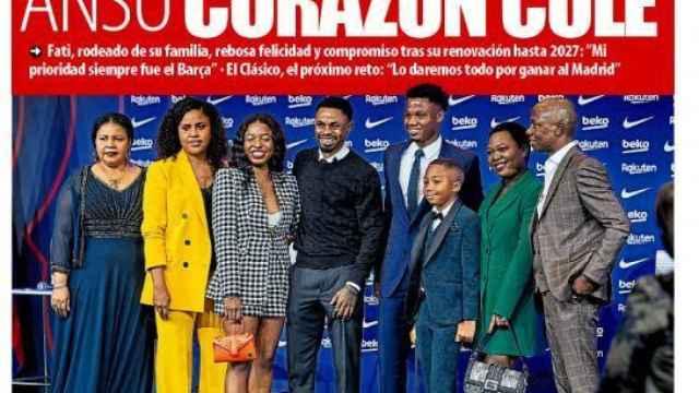 Portada Mundo Deportivo (22/10/21)