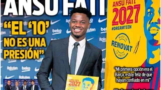 Portada Sport (22/10/21)