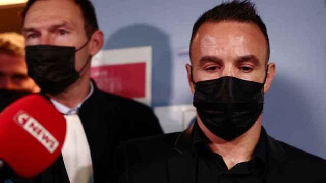 Mathieu Valbuena, en el juicio del caso del polémico vídeo