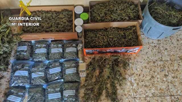 Sorpresa en una casa de Illescas: el olor llevar a la Guardia Civil a incautar 32 kilos de droga