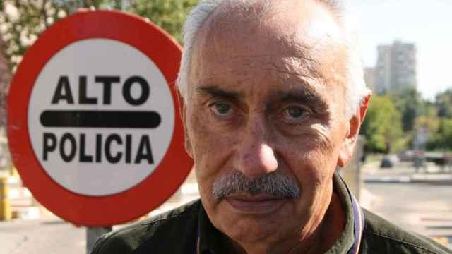 Ricardo Toro Vázquez, a la entrada de la sede de la Brigada Central de Estupefacientes en Madrid, de la que ha sido comisario jefe.