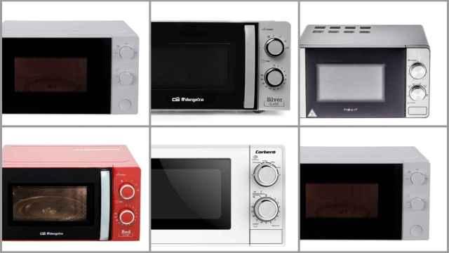 Los 12 mejores microondas más baratos del mercado, según la OCU: desde 44,99 euros