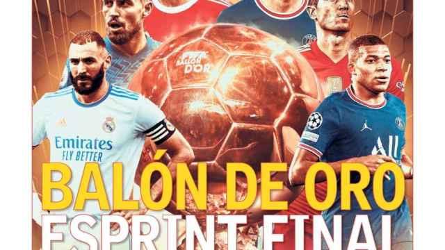 La portada del diario AS (23/10/2021)