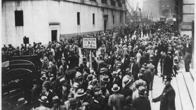 Wall Street en 1929.