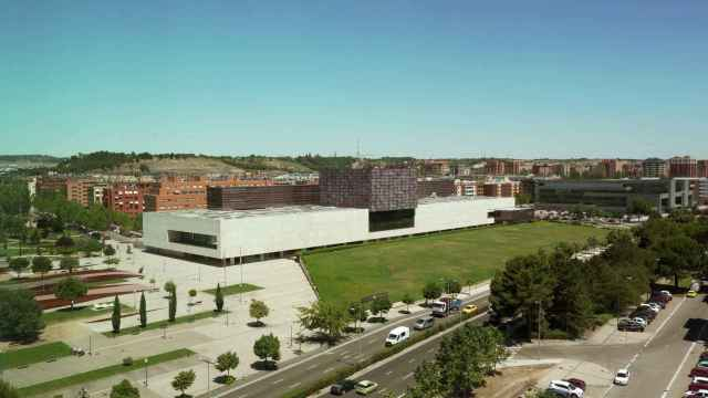 Vista general de las Cortes de Castilla y León / ICAL