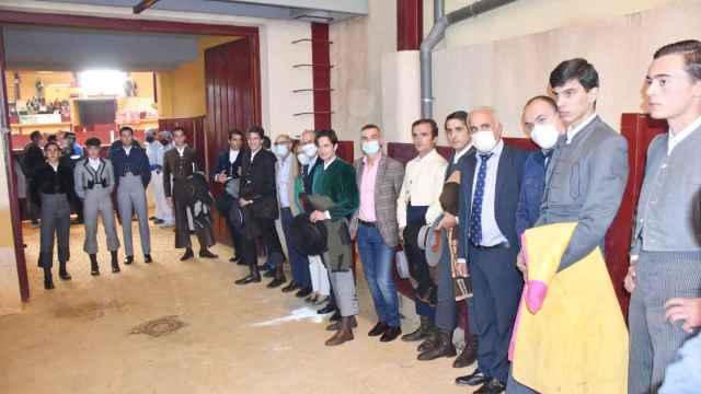 Participantes en la 'Clase Magistral', y autoridades presentes