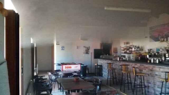 Imagen del humo en el bar 'La Escuela'