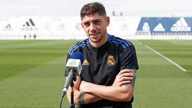 Fede Valverde, futbolista del Real Madrid