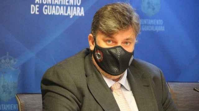 El concejal del Ayuntamiento de Guadalajara Fernando Parlorio.