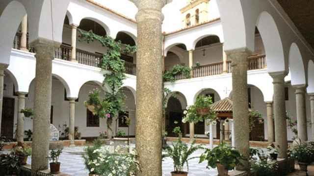 El claustro del convento de San Pablo. Foto: Cultura Castilla-La Mancha.