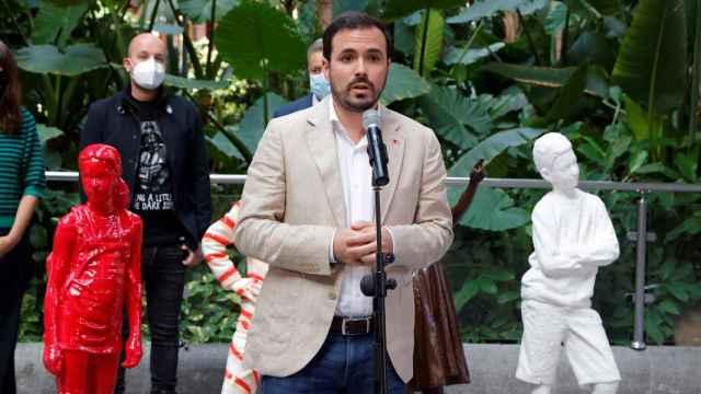 El ministro de Consumo, Alberto Garzón, presenta la campaña Hijos del azúcar este sábado.